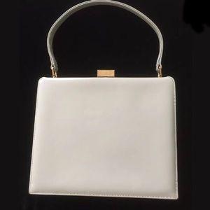 Light Gray Vintage MAM'SELLE handbag/Purse
